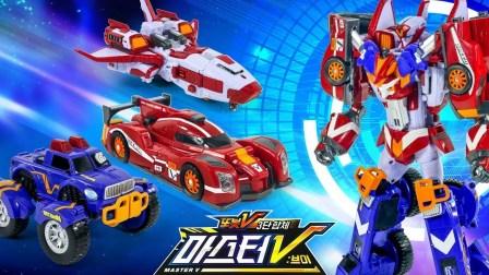 机器战士 变形金刚 组合玩具