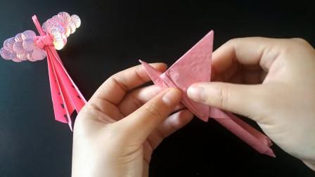 创意手工:太漂亮了!折纸凤凰美出新高度,折法原来这么简单,看完就会