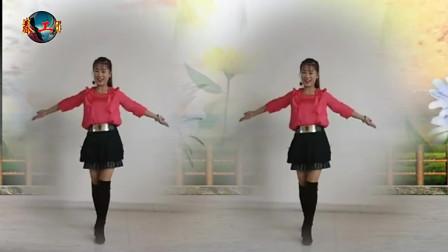 广场舞精选:《小河淌水》演示:田田,动感的舞步,真是性感