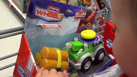 目标玩具狩猎与艾萨克玩具男孩和女孩友好的视频家庭乐趣由善良的玩耍时间