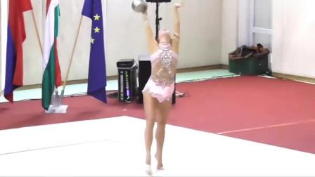 女子艺术体操,最具观赏性项目之一,看完整个人都精神了