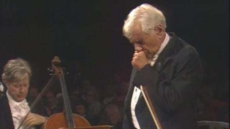 """名曲欣赏508:舒伯特C大调第九交响曲""""伟大""""·伯恩斯坦, 巴伐利亚广播交响乐团, 1987"""