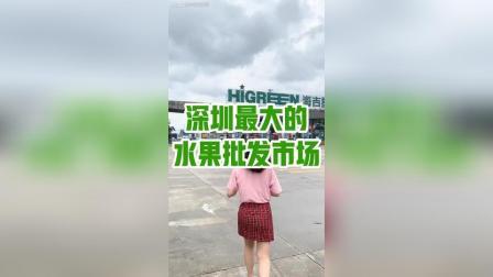 全深圳最大的水果批发市场 水果有多便宜?