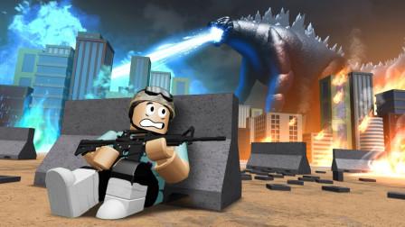 小飞象解说✘Roblox哥斯拉模拟器 哥斯拉大作战!怪兽之王基多拉!乐高小游戏