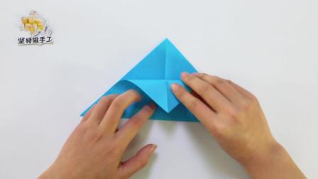 如何用折纸做旋转陀螺