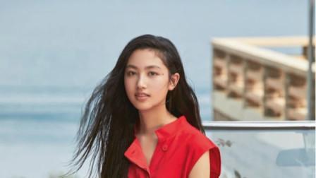任达华女儿登杂志封面秀1米8好身材,14岁气质已不输超模妈妈