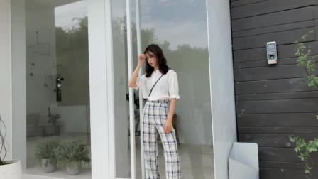 韩版港味风薄款泡泡袖设计感小众短袖衬衫女