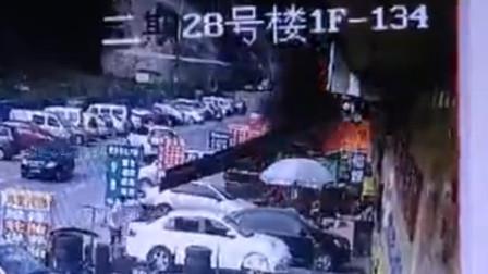 巴中一汽修机械铝焊厂油箱爆炸 致2名男子烧伤送医