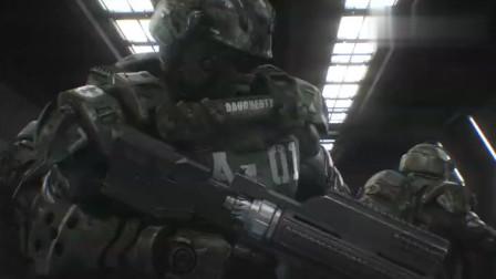 2012年,美日联合制作动画电影,星河战队:入侵,片头剧情