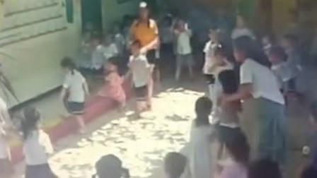 幼儿园玻璃窗突然掉落砸中6岁女童 全身5处伤口被缝23针