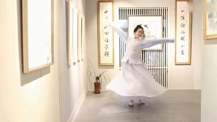 美女单人古风舞曲 古典舞《半壶纱 》