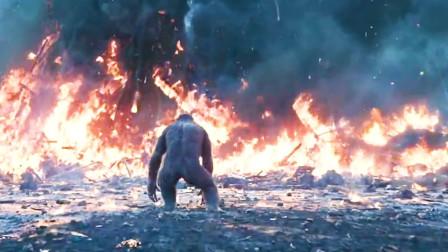 5分钟回顾《猩球大战3》人类与猩猩战斗、看到凯撒阵亡后我哭了