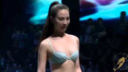 国际内衣模特大赛走秀,苗条的模特,总是很受T台的青睐!