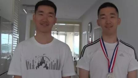黑龙江一双胞胎同考668分 父母陪读睡客厅