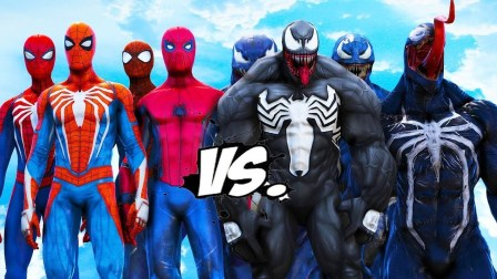 蜘蛛侠队VS毒液队 TEAM SPIDERMAN VS TEAM VENOM