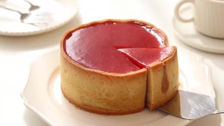 草莓烤奶酪蛋挞 香甜芝士,爽滑的草莓酱,酥酥的挞皮,回味无穷