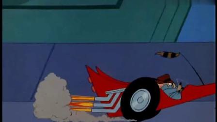 猫和老鼠:杰瑞这是成暴发户了?开跑车不说,还是全自动设备!