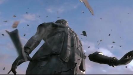 通天帝国:通天浮屠倒塌,直奔皇宫而去,狄仁杰飞身救下武则天