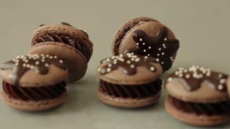 你爱吃的马卡龙详细教程来了!教你在家就能做,还是巧克力味哦