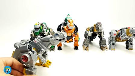 变身玩具,恐龙玩具变身蛋组装成金刚霸王,儿童玩具亲子互动悠悠玩具城