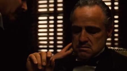 电影《教父》中最经典片段,百看不厌