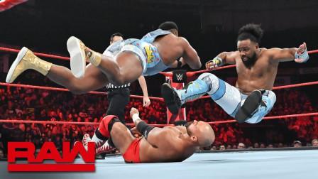 【RAW 06/24】双打组合淘汰赛 乌索兄弟利用双胞胎优势 声东击西