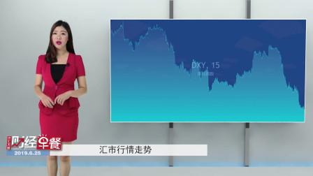 2019.6.25-4汇市【市场押注FED今年不止一次降息 美元再受挫】