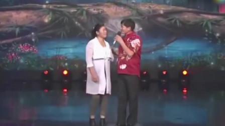 朱之文终于舍得带老婆出来唱歌了!一首《心相印手牵手》掌声连连