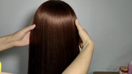 30岁的女人别整天只知道扎马尾了,试试这款发型,简单又好看!