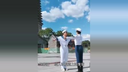 优雅舞者 女68  男78 岁  同恩 转载 上传 6.25