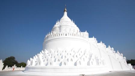 缅甸佛塔形同奶油蛋糕,七层塔基象征七座大山,脱鞋才能入内!