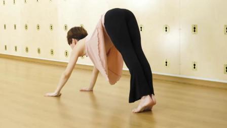 这么美的瑜伽体式,连续动作燃脂瘦身塑形,每天练习效果好