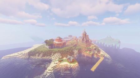 【Minecraft】与老黑玩了1年的生存档现在是什么样子