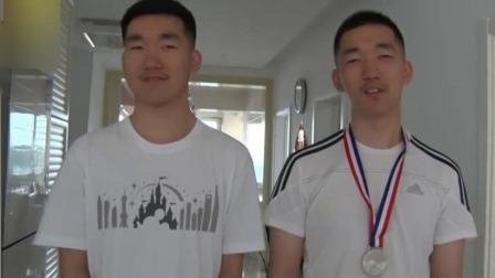 黑龙江双鸭山:心有灵犀 双胞胎同考668分