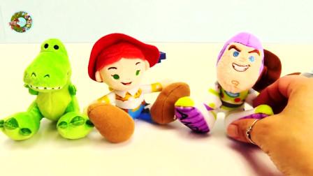 儿童玩具总动员系列,卡通人物和小动物玩具,儿童玩具