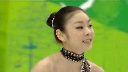 韩国花样滑冰最美女运动员金妍儿,冰滑舞台的黑天鹅,美无法形容