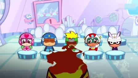 开心超人:火焰超人给大家道歉,他决定要退出超人联盟!