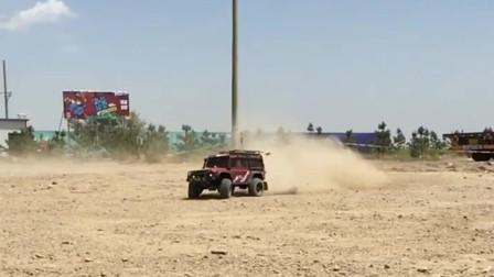 牧马人越野车Rc模型电控玩具,高速机动可做大过载机动特效