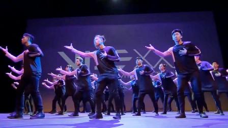这就是街舞,最强编舞师余衍林《Sweet Dream》齐舞版,C位太耀眼