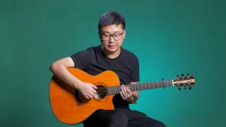 《不负于你》吉他弹唱教学自学教程C调入门版 高音教 猴哥吉他教学