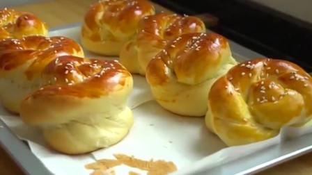 香甜老式面包,松软有嚼劲