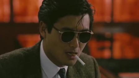 周润发的经典镜头集锦,最喜欢这部《纵横四海》,帅的不像话!
