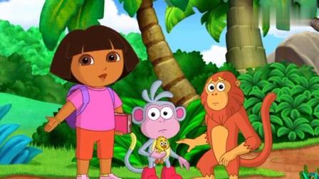 爱探险的朵拉第七季:朵拉和朋友们通过猴子森林,带猴子去看医生