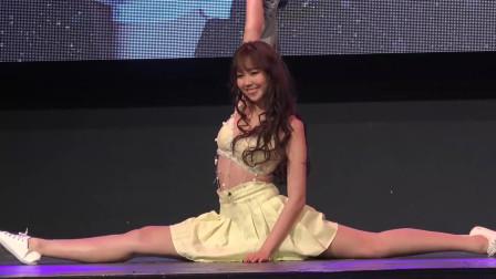思薇尔内衣十二星萌主时装模特选拔赛台湾美女陈蕴予舞蹈才艺表演