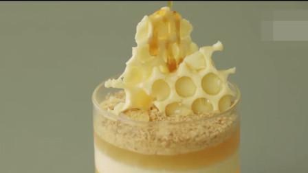 「烘焙教程」蜂蜜芝士蛋糕,教你用杯子做蛋糕的超简单做法诀窍
