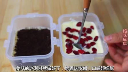 自制冰淇淋,比哈根达斯还美味,细腻没有冰渣  #冰淇淋  #网红…