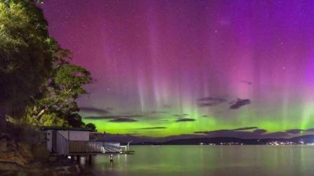 谁说夏天不能看极光?澳洲的粉色南极光了解一下