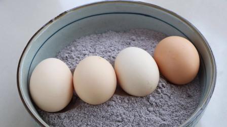黑米粉加4个鸡蛋,比面包好吃,比蛋糕简单,出锅就光盘