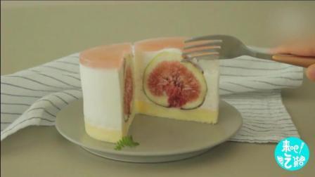 5分钟教会你: 酸奶慕斯蛋糕酸酸甜甜很美味哦