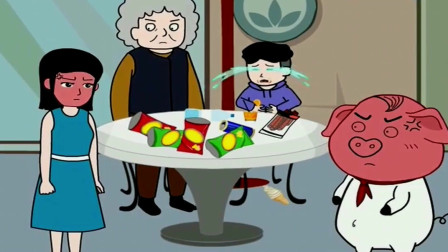 奶奶愚爱惯孩子吃零食,猪屁登好心劝说却被骂,太解气了!
